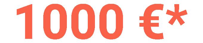 basculante 1000 euro