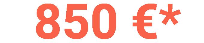 basculante 850 euro